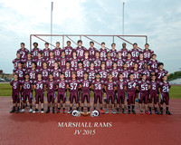 Marshall JV Football 2015