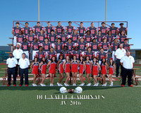 Del Valley Football JV 2016