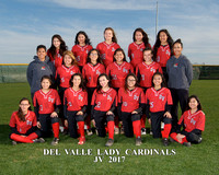 Del Valle JV Softball 2017