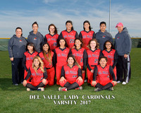 Del Valle Varsity Softball 2017