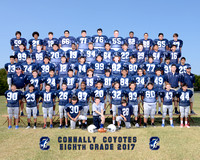 Connally 8th Grade Football 2017