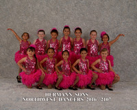 Wednesday 4:45 Hermann Sons Northwest Dancers 2017